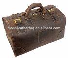 Extra Large Genuine Cow Leather Vintage Duffle Bag 2014 High Fashion Custom Travel Bag Men Handbag 3151