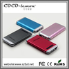 high capacity power bank 12000 mah alluminum alloy housing power bank for charging Iphone Ipad