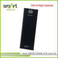 delgado y de alta capacidad de cargador portátil banco de potencia con 3 salidas selecciones
