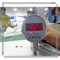 stainless LED display pressure gauge