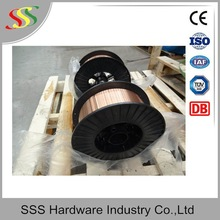 High quality diameter 0.8mm co2 shielded copper coated welding wire