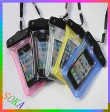 Phone Waterproof Case,PVC Waterproof Bag for swimming / diving / skiing