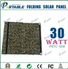 30W 18V flexible solar charger for laptop