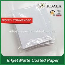 Inkjet photo paper 110g, matte inkjet paper