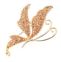 Butterfly Rhinestone Brooch,Fashion Women Brooch Pin