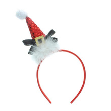 Christmas Snow Bear Deeley Bopper Alice Hair Band Headband Xmas Accessories