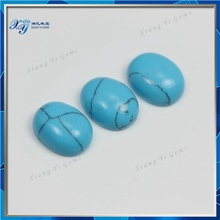7x9mm The most favorable prices rough cabochon turquoise stone beads oval shape cabochon turquoise stone