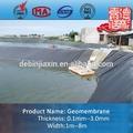 plástico pead material impermeável de geomembrana de pead para a barragem de forro