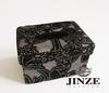 elegant black home decoration facial napkin box