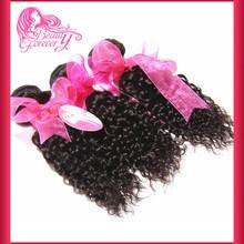 Wholesale Xuchang Longqi beauty hair Peruvian virgin hair Jerry Curl weave