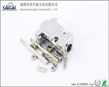rs232 plating plastic cover for d sub 9p shell connector