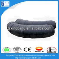 Large diameter black waterproof pipe insulation tube connector elbow