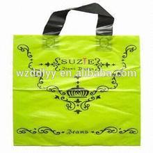 Hot Sealing Hdpe&Ldpe Plastic Bags/Handle Shopping Bag/High Quantity