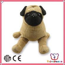 GSV certification wholesale customized size DIY cute plush toy dog