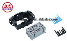 DJ7661-1.5/6.3-21 Zhongzhi 44 lines PA grey composite car connector socket protective sheath