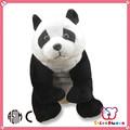 Iso 9001 fábrica feito sob encomenda bonito macio panda encantador urso de pelúcia brinquedos