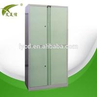 Four doors assemble metal cheap wardrobe closet