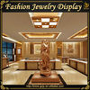 Customized jewelry store furniture with retail counter