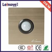 metal plate led light sensor switch