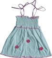 bebê do algodão vestido de moda