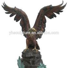 Large Bronze eagle sculpture statue