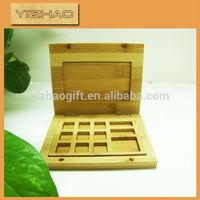 Ash wood makeup box,bamboo wood makeup box,wood makeup box