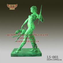 QUYANG JINKUN CARVING Height 190CM bronze figure garden sculpture
