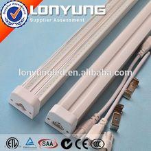 AC100-277V 2ft-8ft 8w-60w t5 fluorescent lighting bracket T5 LED Integrative Double Tube