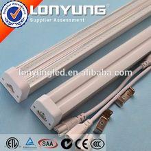 UL AC100-277V 2ft-8ft 8w-60w animal tube free hot sex t5 led tube T5 LED Integrative Double Tube