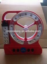 Rechargeable Emergency Light with fan