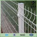 triángulo doble por inmersión en caliente galvanizado y recubierto de pvc de hierro 3ft paneles de la cerca