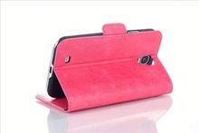 2014 Good Quality Luxurious Leather Case for Samsung S4 I9500 F-SI9500LC026