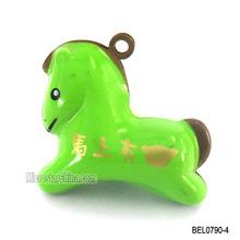 New design horse cartoon bell in sotck