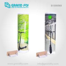 POP Up Cardboard Paper Folding Floor Standee Display stand