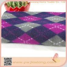 Fashion 100% polyester microfiber fleece baby blanket