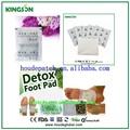 medicinales naturales remiendo del pie del producto de la salud a base de hierbas chinas natual de desintoxicación pie parche para la promoción de dormir