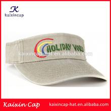 wholesale new design blank uv protection children custom sun visor cap with embroidery logo