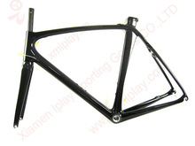 V-brake Di2 frame carbon road, carbon bicycle frame,chinese carbon road frame with fork/seatpost/seatclamp
