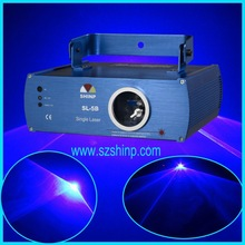 500mW Single Blue Beam Effect Stage laser Light Show System