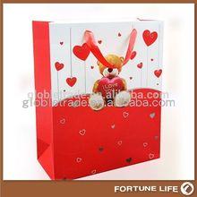 China factory supply wax art paper bag