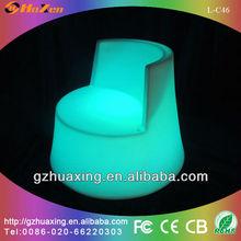 2014 hot sale led furniture led glow bar chair L-C46