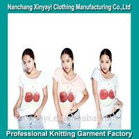 T Shirt Printing Sublimation Woman's T-Shirt / Dri Fit Shirts Wholesale Online Shopping