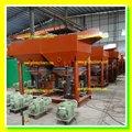 África popular de recuperación de oro plantilla concentrado de la máquina, Plantilla concentrador de la máquina