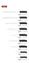 Full series knife set of 15 pcs for Japanese/ European design