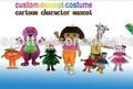2014 buona qualità mascotte costume costumi mascotte per la vendita