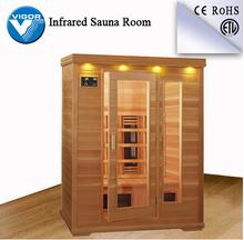 Infrared sauna room faucet,personal steam sauna,plywood sauna room