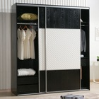 Plywood wardrobe clothing rack model wardrobe cabinet modern design used for sale
