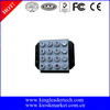 16 full travel keys illuminated keypad