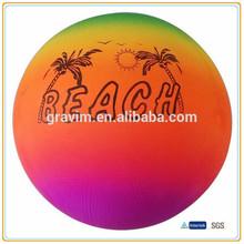 2014 Fashional Gradient Color PVC Free Beach Ball