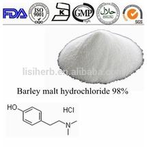 GMP Factory Malt Extract 3595-5-9 Hordenine Hydrochloride